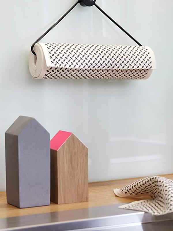 kiss my kitchen schwammtuchrolle pali black annibazaar. Black Bedroom Furniture Sets. Home Design Ideas
