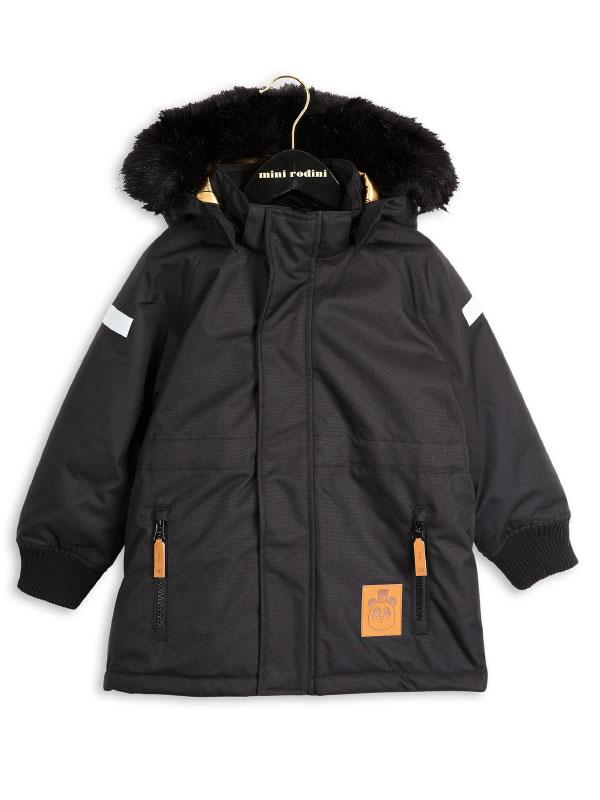 Mini Rodini Siberia Totem Jacket Black Www Annibazaar Com