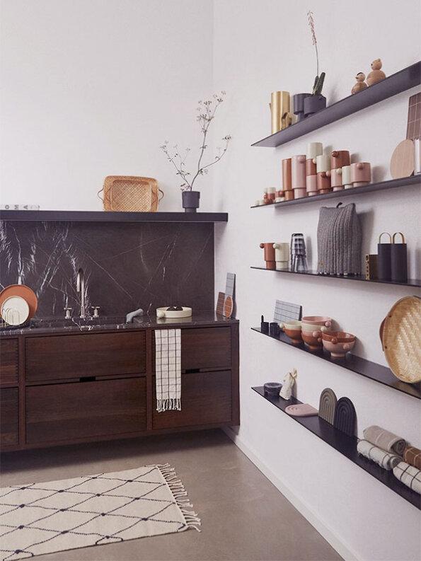 oyoy kücheninspiration regal mit vasen - annibazaa.com